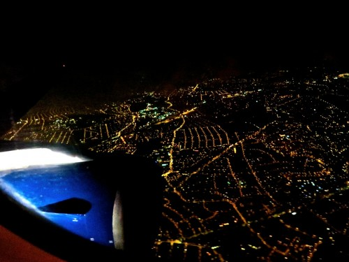 Coming back into Heathrow