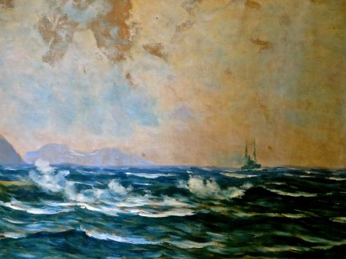 A sea painting