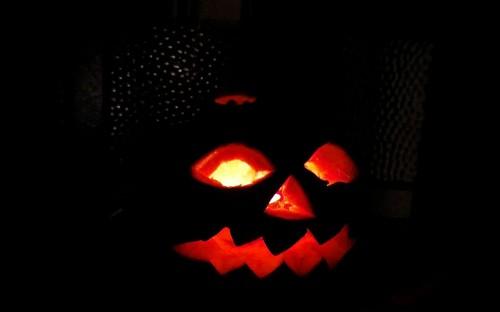 At Hallowe'en ...