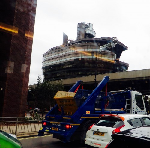 The Ark comes ashore in Hammersmith
