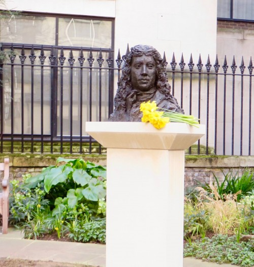 Pepys and daffodils