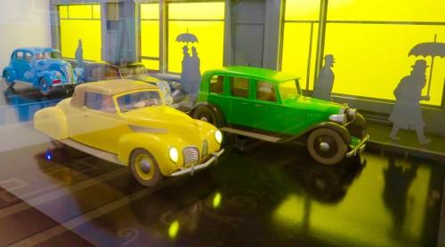 Tintin exhibition - I love this photo!