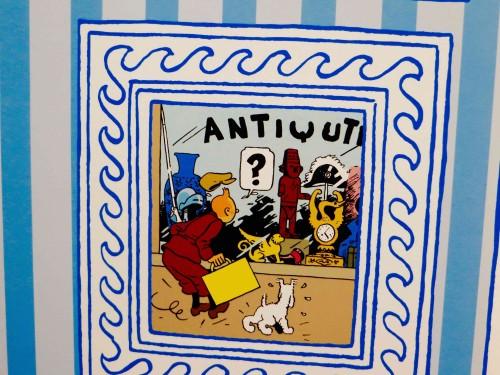 Tintin - a mysterious adventure unfolds ...