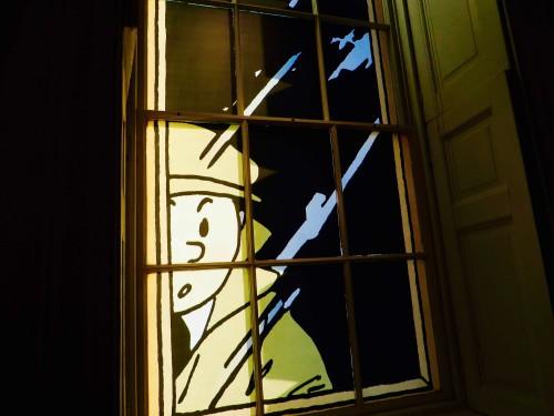 Tintin the sleuth