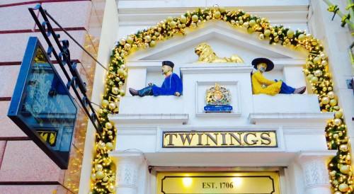 Twinings Tea in Fleet Street