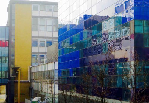 Reflections, Imperial College, South Kensington