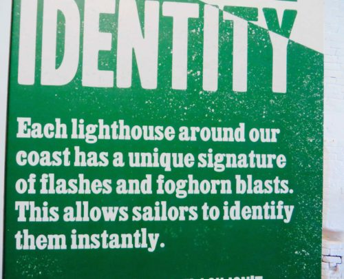Lighthouse exhibition at Hurst Castle - I never knew this fact!