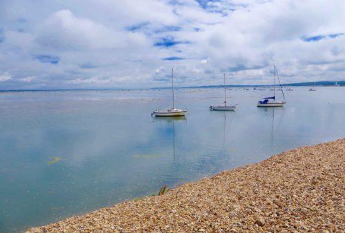 Keyhaven - Sailing boats 3
