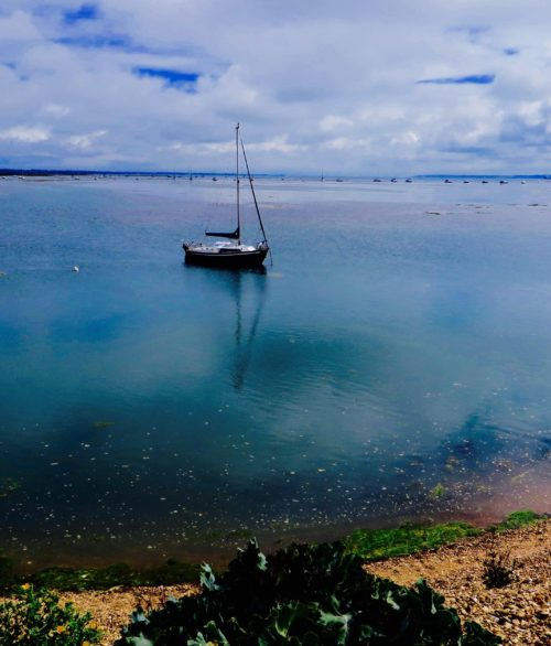 Keyhaven - the lagoon