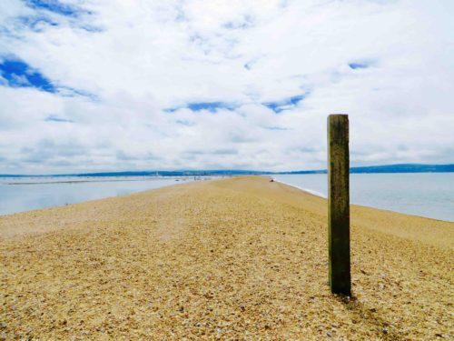 The sandspit - Keyhaven