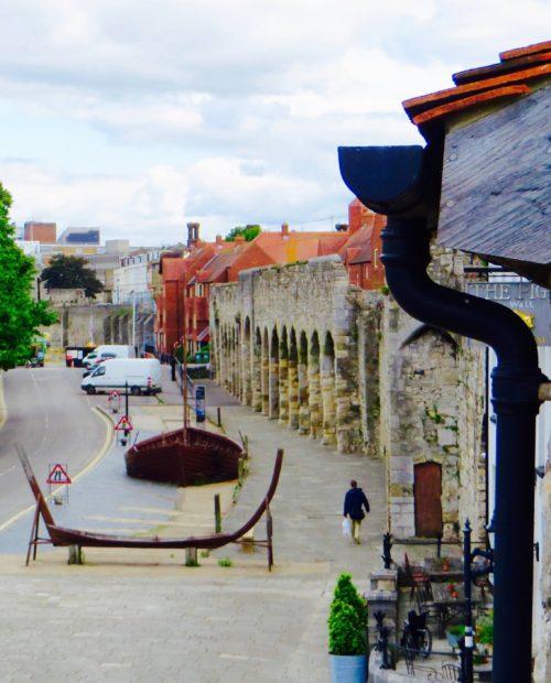 Southampton - part of the city walls