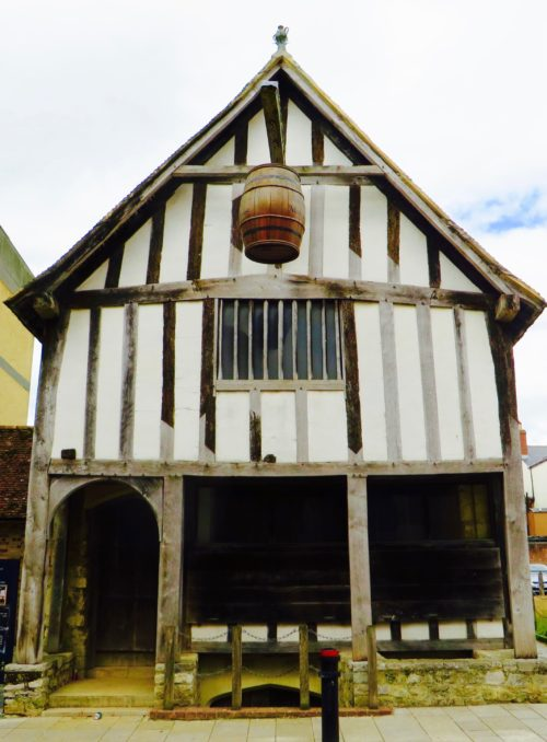 Southampton - medieval merchant's house built in 1290