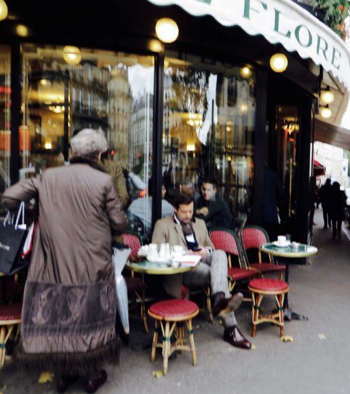 At Café Flore