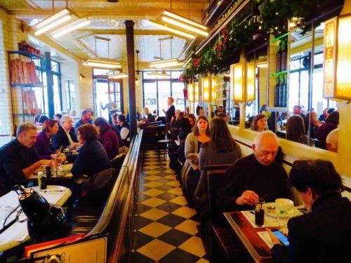 Lunch at the Saint Régis restaurant, Ile Saint-Louis