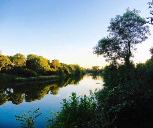 Leg O' Mutton small reservoir by towpath, Barnes