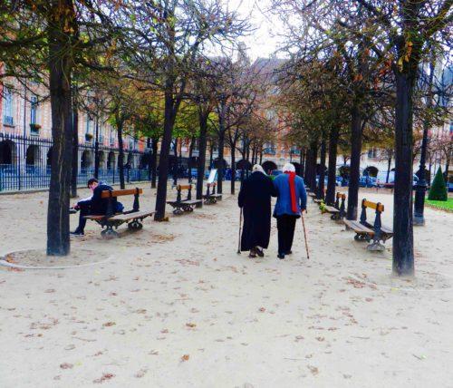 Denizens of the Place des Vosges, Paris