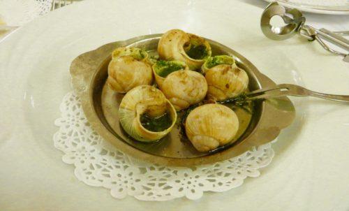 Escargots at Terminus Nord, Paris