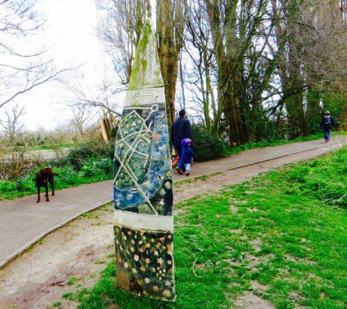 Chiswick riverside walk from Barnes Bridge to Hammersmith 1