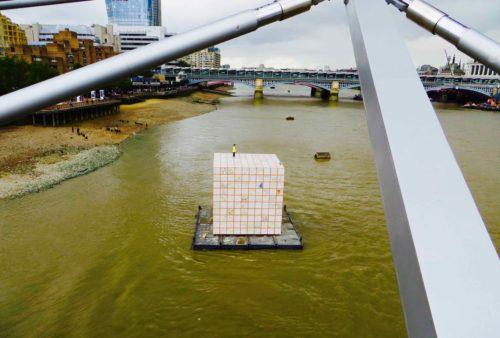 Thames cube!