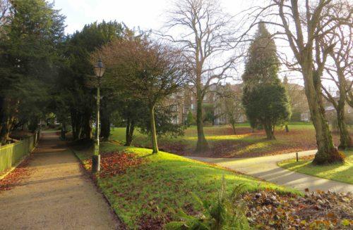 Buxton - Pavilion Gardens - a tranquil spot