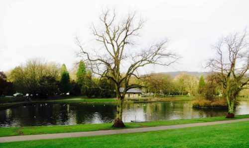Buxton lakeside - Pavilion Gardens